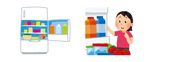業務用桜えび冷蔵庫での解凍