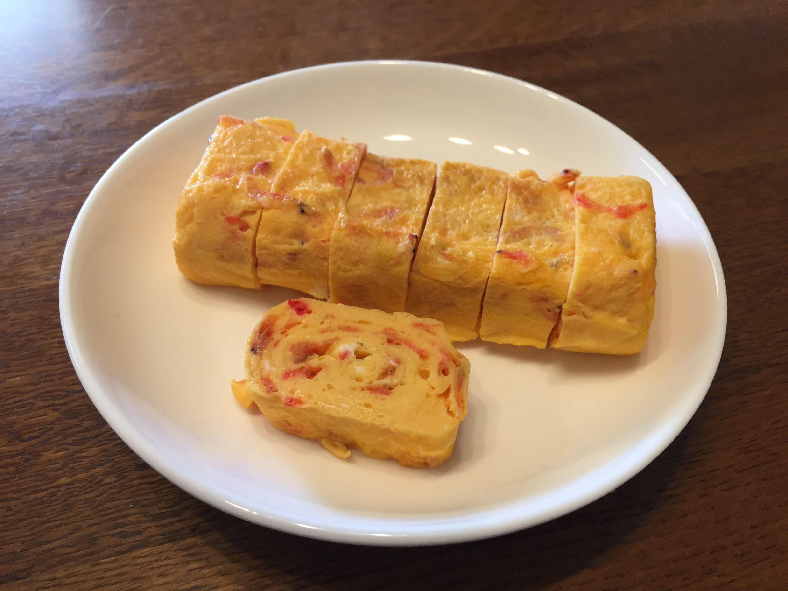 桜えびレシピ、桜えびのだし焼き玉子